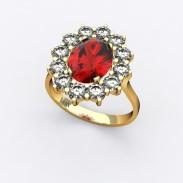 bague-entourage-marguerite-or-jaune-diamants-rubis-0