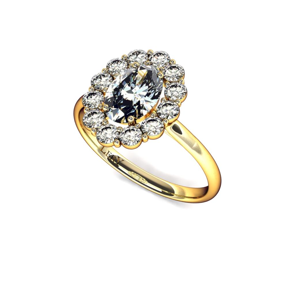 c3763717fdb bague-entourage-marguerite-diamants-or-jaune-diamant-ovale-