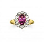 bague-entourage-marguerite-diamants-or-jaune-saphir-rose-ovale-2