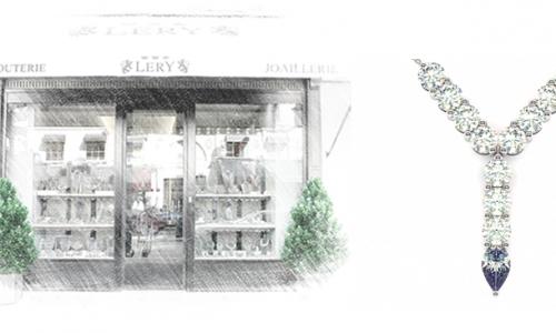 16 rue de la paix LERY joaillerie pendentif
