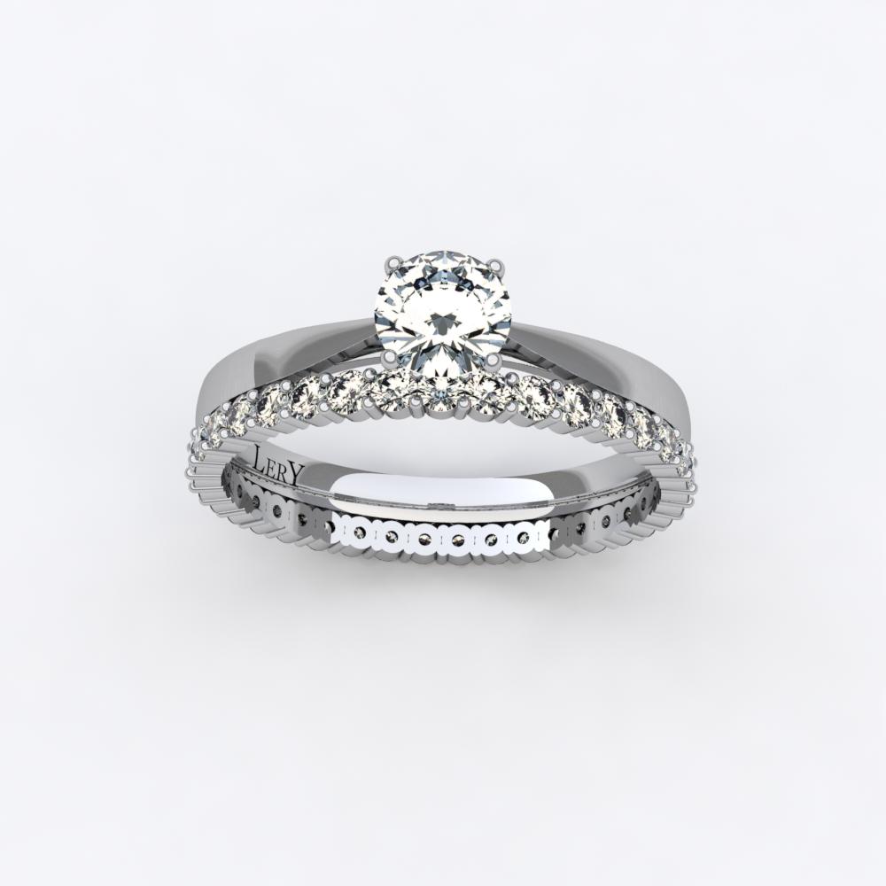 parure de mariage diamants et or blanc lery. Black Bedroom Furniture Sets. Home Design Ideas