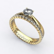solitaire-mousquetaire-or-jaune-0.30-carats-alliance-diamants-ronds-1.5mm-0