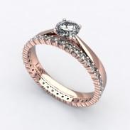 solitaire-mousquetaire-or-rose-0.30-carats-alliance-diamants-ronds-1.5mm-0