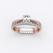 solitaire-mousquetaire-or-rose-0.30-carats-alliance-diamants-ronds-1.5mm-2