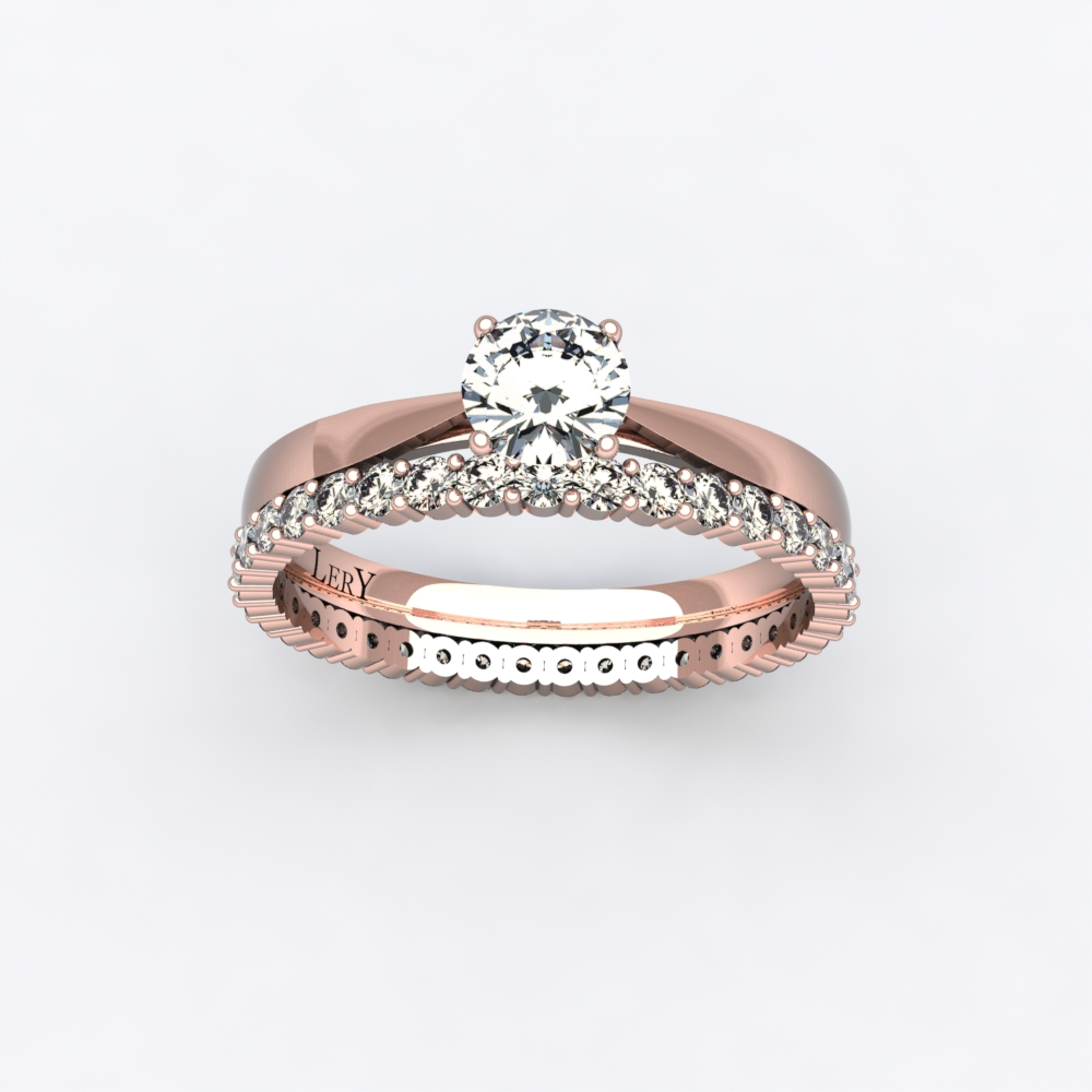 solitaire-mousquetaire-or-rose-0.30-carats-alliance-diamants-ronds-1 ...